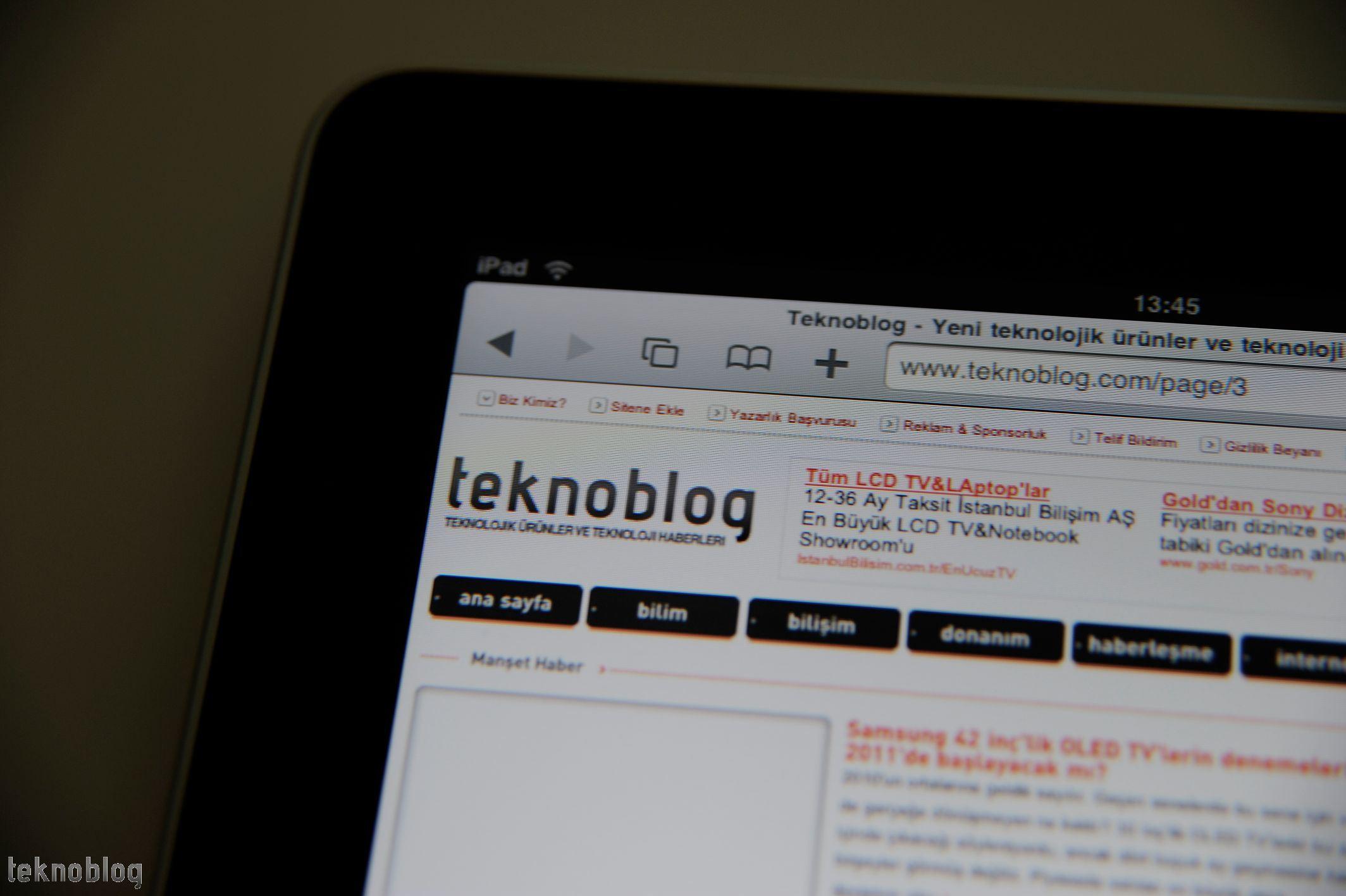 Teknoblog İncelemesi: Apple iPad – Galeri