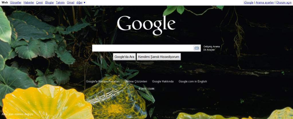 google-personal-homepage