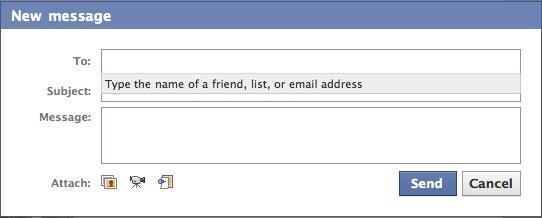 facebook-mesajlasma
