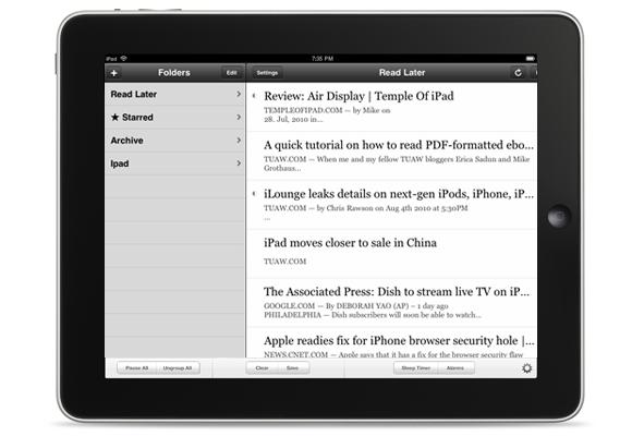 read-later-ipad-service