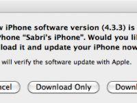 Apple konum izlemeyle ilgili hatayı giderecek iOS 4.3.3 güncellemesini yayınladı