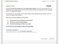iCloud kotası dolduğunda otomatik yedekleme ve e-posta alımı duruyor olabilir