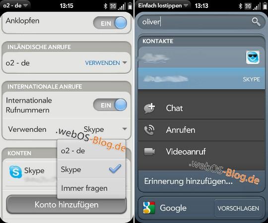 webos-skype-entegrasyon