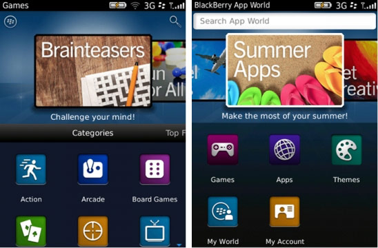 RIM BlackBerry App World 3.0 beta sürümü Beta Zone üzerinden yayınlandı