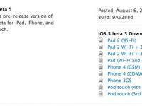 Apple iOS 5 Beta 5 sürümünü yayınladı