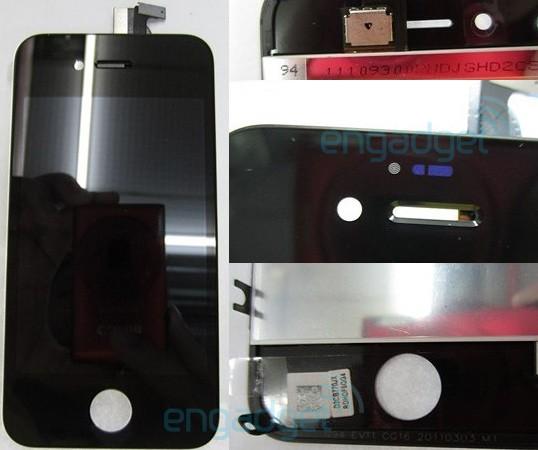 iPhone N94 prototipinin ön panel parçaları internette geziniyor