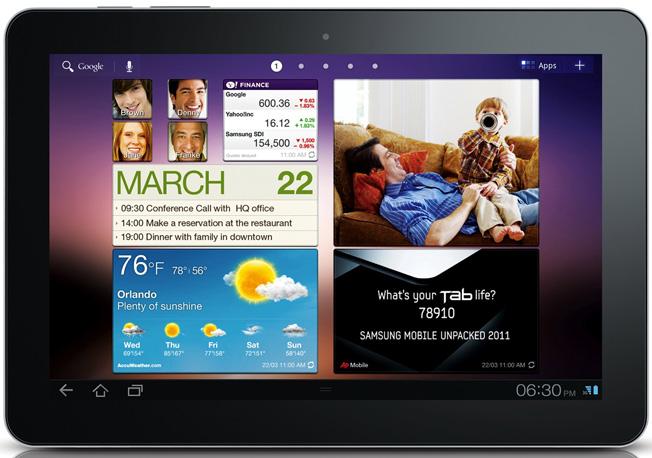 Samsung'un AB'deki Galaxy Tab 10.1 satış yasağına dair temyiz duruşması 25 Ağustosta