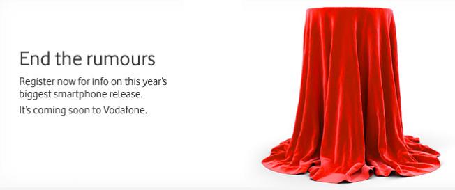 Vodafone Avustralya iPhone 5'i ufak ufak tanıtmaya başladı