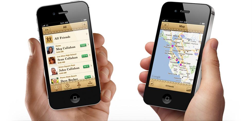 Apple Find My Friends uygulamasıyla bu sefer de kişileri bulduracak
