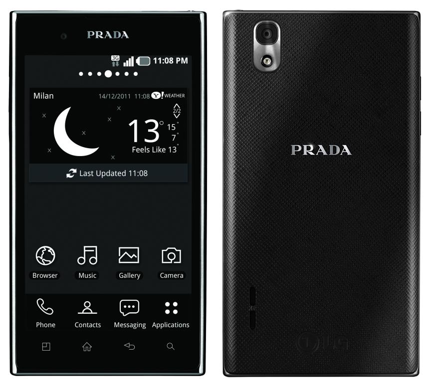 PRADA Phone by LG 3.0 yarın İngiltere'de satışa çıkıyor