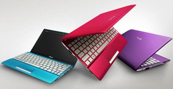 ASUS'un 2012 model Eee PC Flare netbook serisi kendini gösterdi
