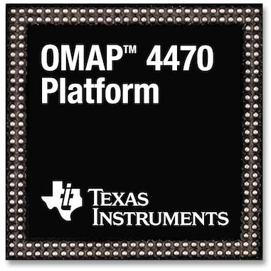 TI OMAP 4470 üzerinde Windows 8'i sergiliyor