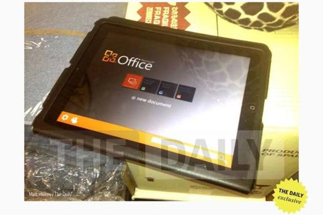 iPad'e özel Microsoft Office fotoğrafı sahteymiş (güncellendi)