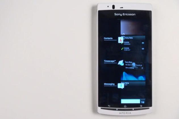 Sony Xperia cihazlarına özel Ice Cream Sandwich ROM'unun beta sürümünü yayınladı – Video