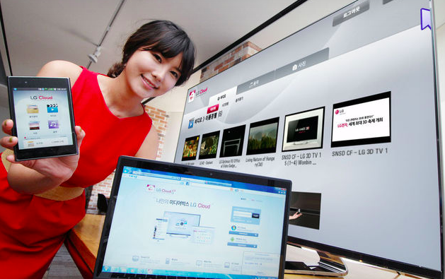 LG Cloud servisi üç farklı ekrana içerik akışı yapacak, 1 Mayısta faaliyete geçiyor