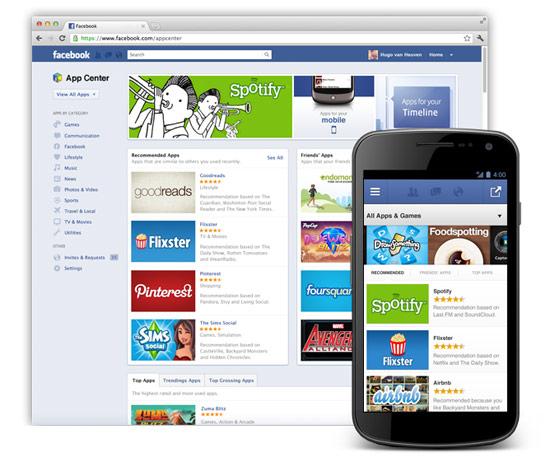Facebook paralı web uygulamalarına hazırlanıyor, App Center beta olarak duyuruldu