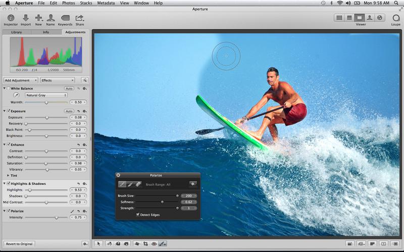 Aperture'a yeni sürümle Retina ekran desteği ve iPhoto ile paylaşım özelliği eklendi