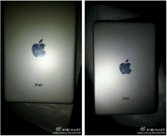iPad Mini'nin arka kaplaması ortalıkta görüldü