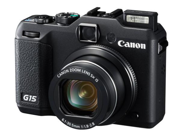 Canon G serisinin gözde cihazı PowerShot G15'i duyurdu