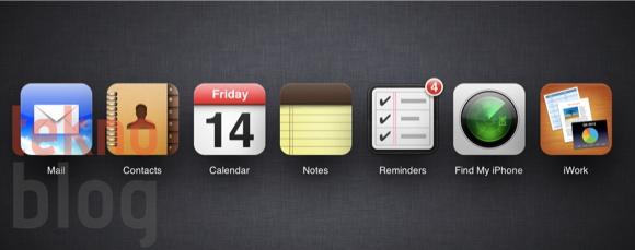 iCloud.com iOS 6'nın çıkışı öncesinde Anımsatıcılar ve Notlar ile güncellendi