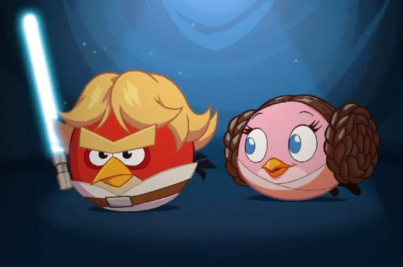 Angry Birds Star Wars'un ilk oyun videosu yayınlandı