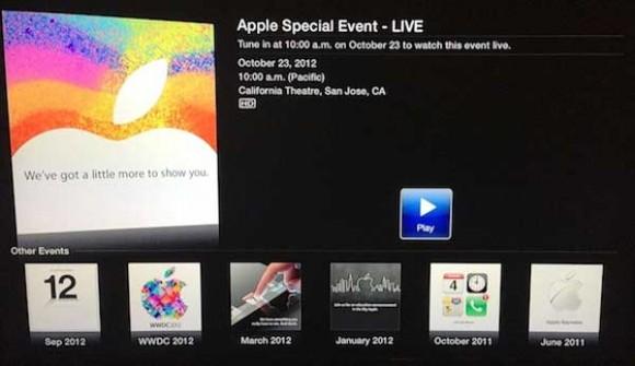 Apple TV sahipleri bu akşamki Apple etkinliğini canlı izleyebilecek (güncellendi)