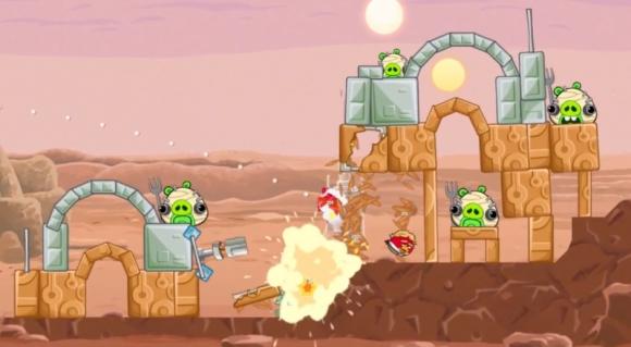 Rovio Angry Birds Star Wars'un resmi oyun videosunu yayınladı