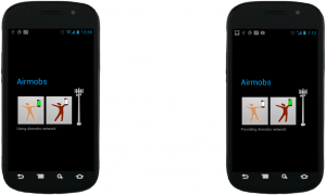 Android uygulaması Airmobs mobil bağlantının Wi-Fi üzerinden kredi bazlı sistemle paylaşımına izin veriyor