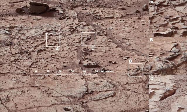 NASA su izleri bulmak için ilk kaya sondajını gerçekleştiriyor