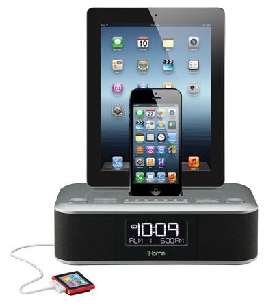 iHome Lightning uyumlu yeni iPhone ve iPad dock ve hoparlörlerini CES 2013'te tanıtacak