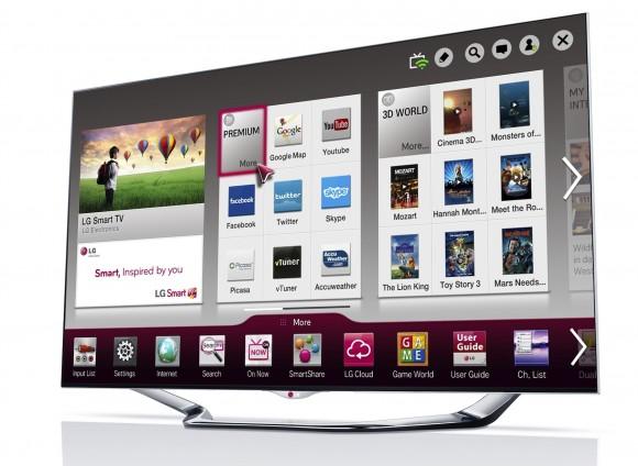 LG'nin 2013 model akıllı televizyonları NFC destekli SmartShare özelliğiyle geliyor