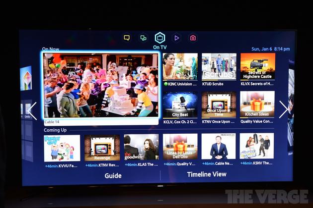 Samsung akıllı TV'leri için yenilenmiş Smart Hub'ı tanıttı, akıllı evrim setleriyle geçen yılın ürünleri de bu arayüzü kullanabilecek
