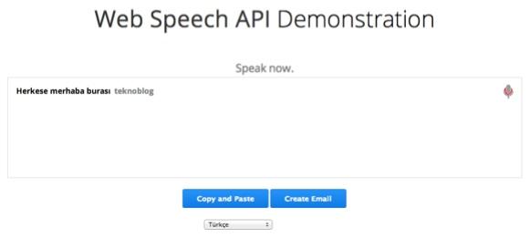 Google Chrome 25 ses tanıma ve dikte özelliğiyle birlikte geldi