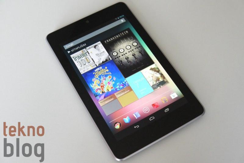 En popüler Android tabletler 7 inç'lik modeller