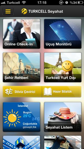 Turkcell Seyahat iOS Uygulama İncelemesi