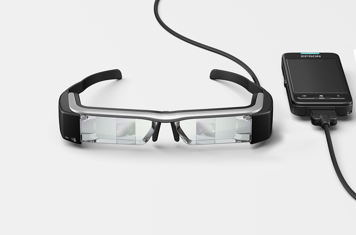 Epson Moverio BT-200 AR akıllı gözlük Google Glass'a rakip olacak