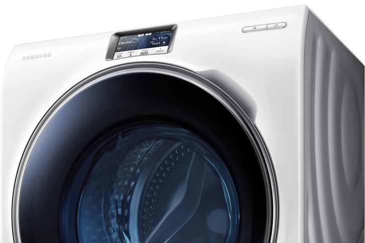 Samsung WW9000 akıllı çamaşır makinesiyle yıkama işlemi uzaktan kontrol edilebiliyor