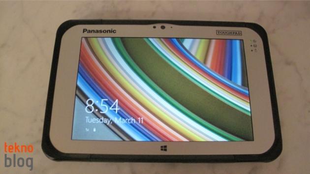 Panasonic Toughpad FZ-M1 zorlu şartlarda çalışanlara yardımcı olmak için geliyor