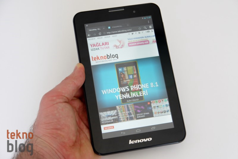 Lenovo IdeaTab A3000 İncelemesi
