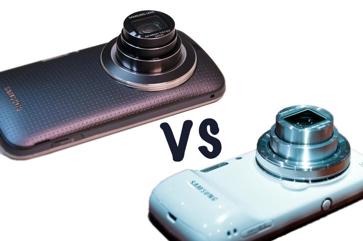 Samsung Galaxy K Zoom ve Galaxy S4 Zoom karşı karşıya