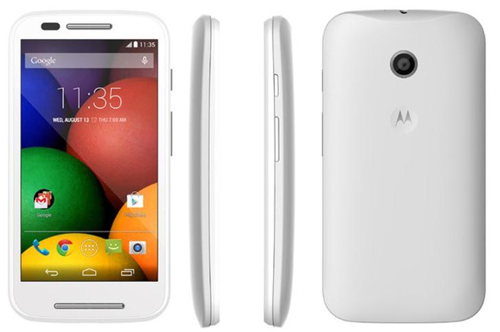 Motorola'dan uygun fiyatlı yeni Android telefonu Moto E