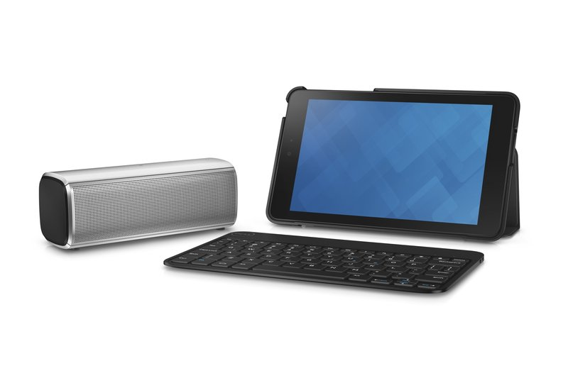 Venue 8 Tablet with Keyboard and AD211 Speaker