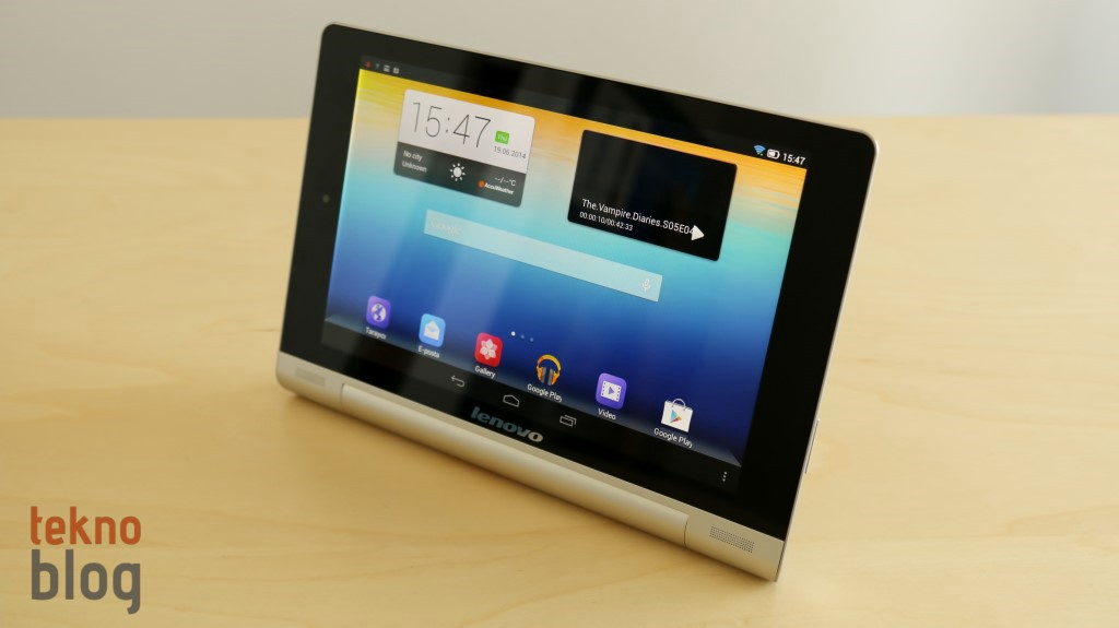 Lenovo Yoga Tablet 8 İncelemesi