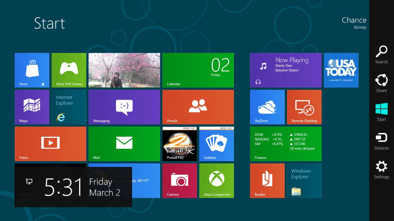 Windows 9 ile Charms kenar çubuğu tarihe karışacak