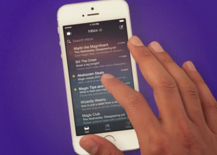 Yahoo Mail'in iOS ve Android uygulamalarına gelen kutusu içinde akıllı arama özelliği eklendi
