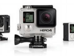 GoPro yeni Hero4 serisi kameralarını tanıttı