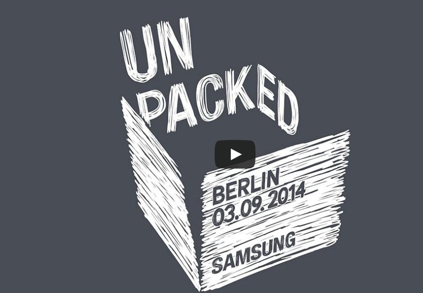 Samsung IFA 2014 Unpacked etkinliğini canlı izleyin