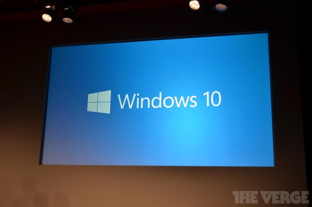 Microsoft en yeni Windows sürümü Windows 10'u duyurdu