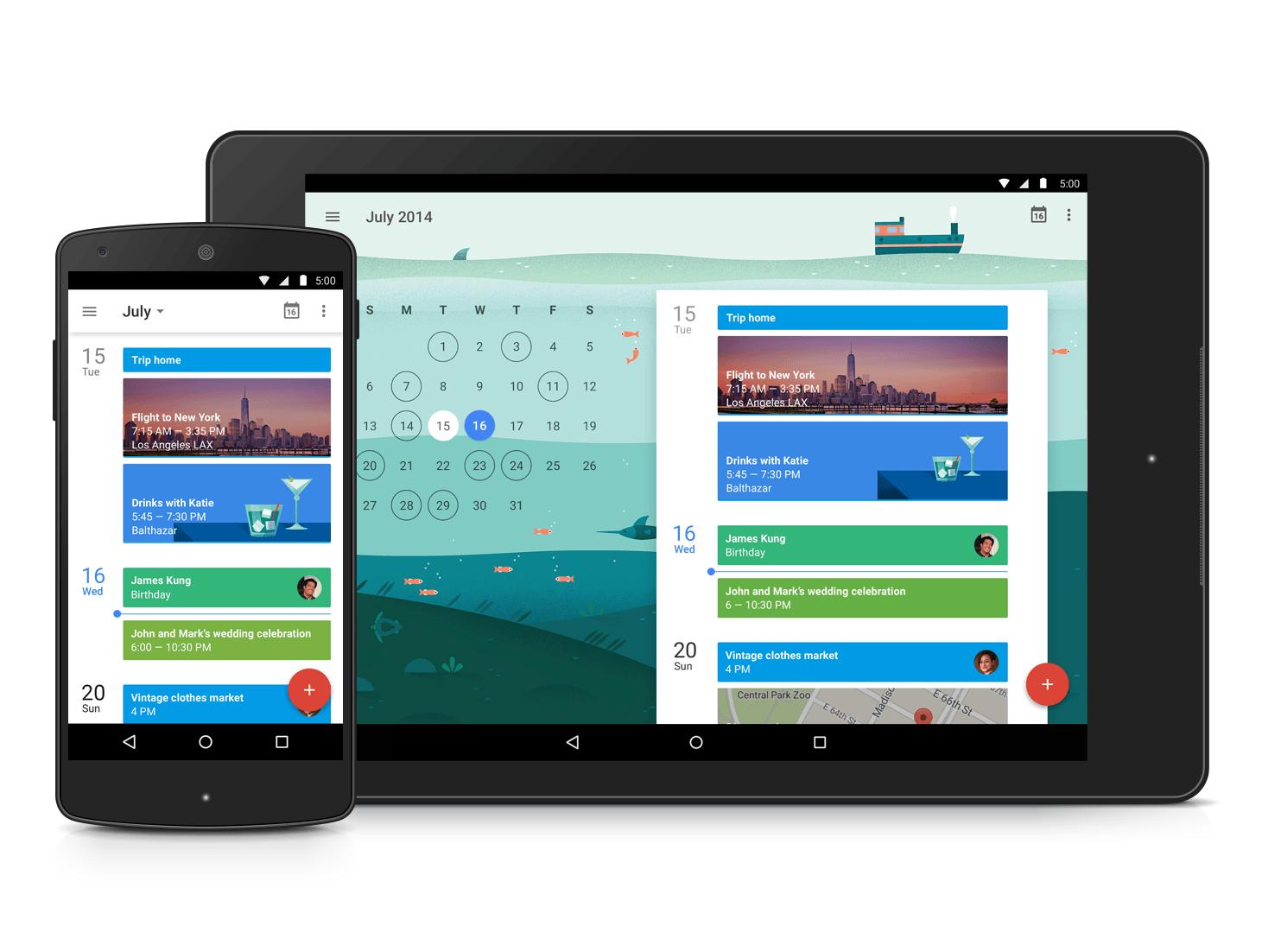 Google Takvim uygulaması yepyeni görünümüyle Android'e geliyor, iPhone için de yolda