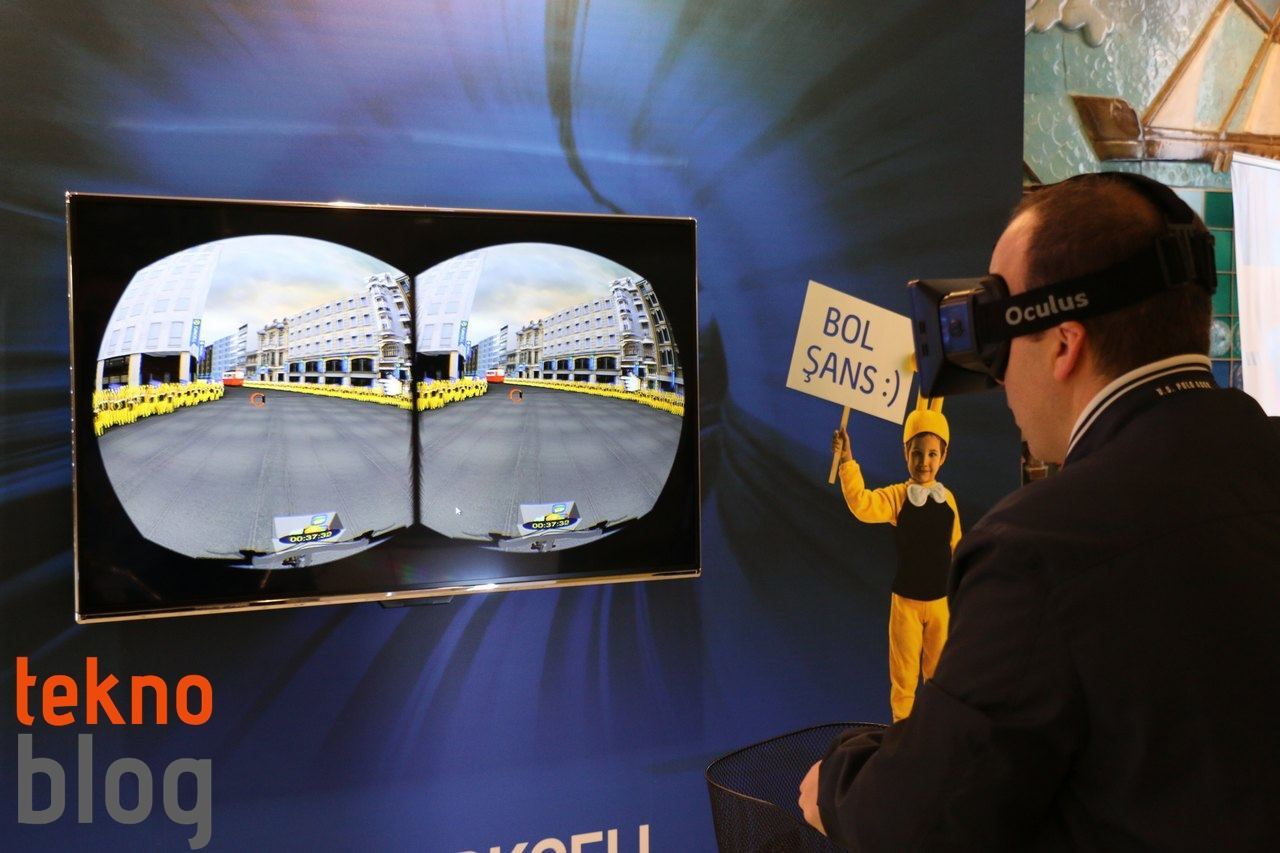Oculus Rift ile ilk sanal gerçeklik deneyimim